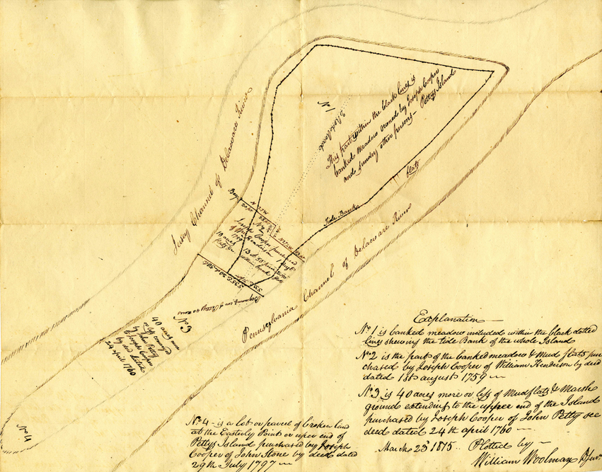 1797 Deed to Petty's Island