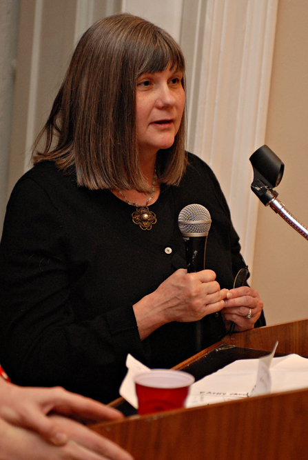 Laird descendent Kathy Karn, 'Reclaiming The Lost Kingdom of Laird', opening, Historical Society of Pennsylvania, 2-4-10