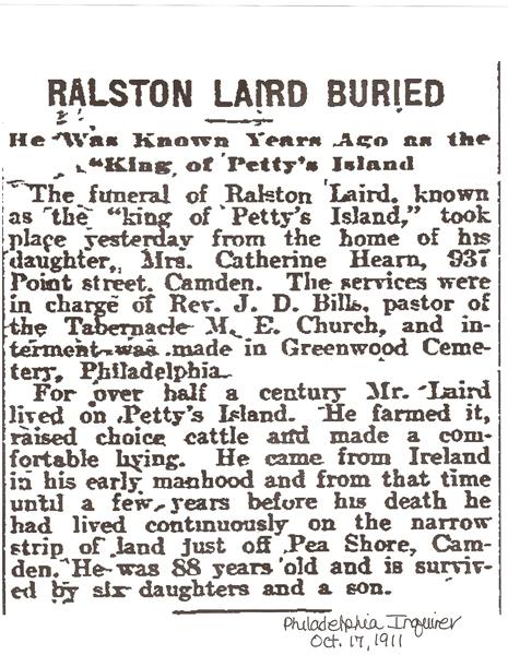 Ralston Laird's Obituary