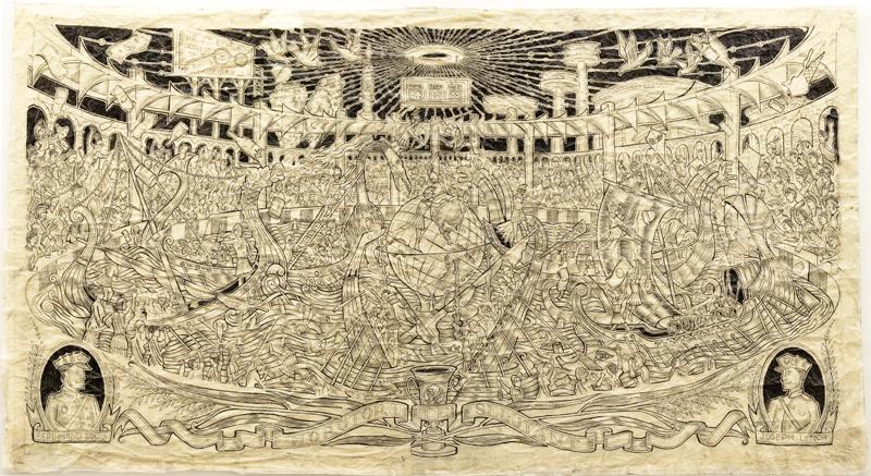 Morutori Te Selutant (Drawing), 2009