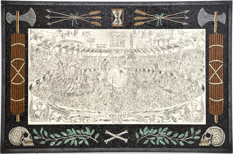 Morutori Te Selutant (Scrimshaw & Mosaic), 2009