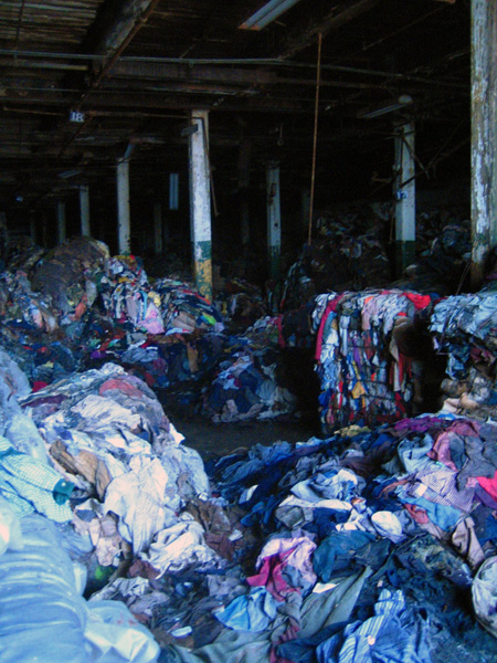 Some of the clothes before the fire.