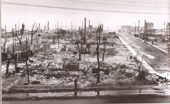 This has bred a spirit of resiliency in the community.  Great Fire of June 15, 1922.