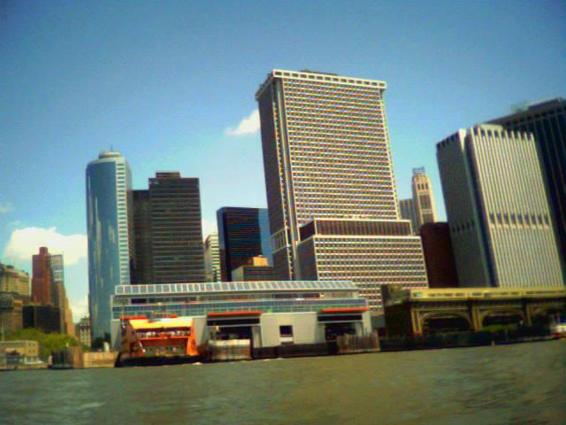 Dodging the Staten Island Ferry