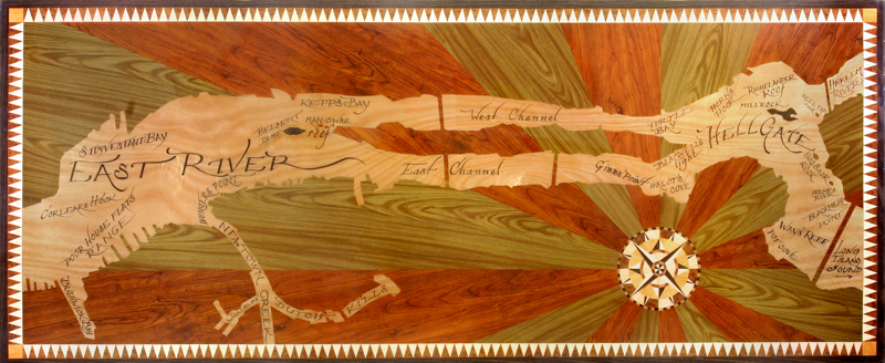 Shelf Paper Map, 2006