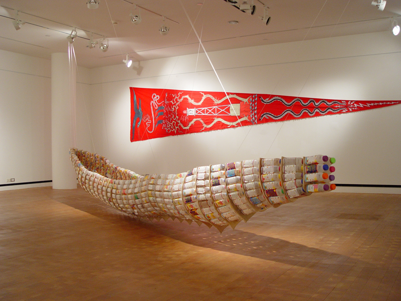 Installation, United Islands of the Eat River, 2006