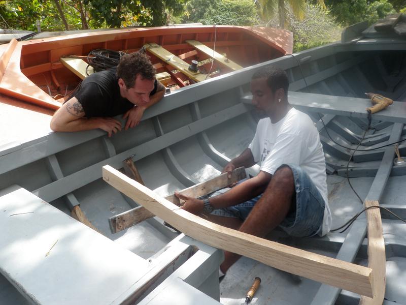 Barter: Boatbuilding Lesson