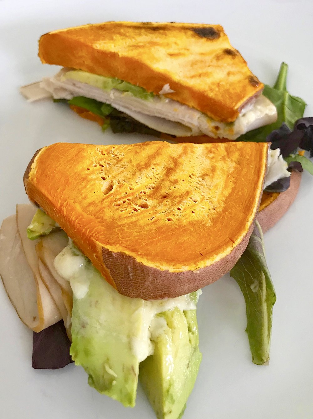 Turkey and avocado on sweet potato toast.jpg