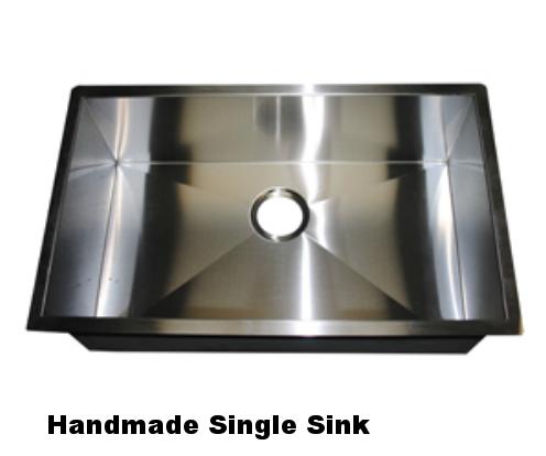Handmade Single Sink