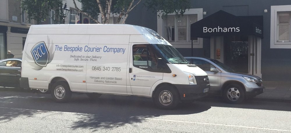 The Bespoke Courier Company Transit Van