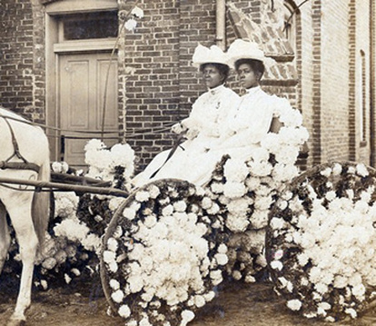 This photo from an early Houston celebration is featured in this article -  http://www.ultimatehistoryproject.com/juneteenth-a-day-of-jubilation.html