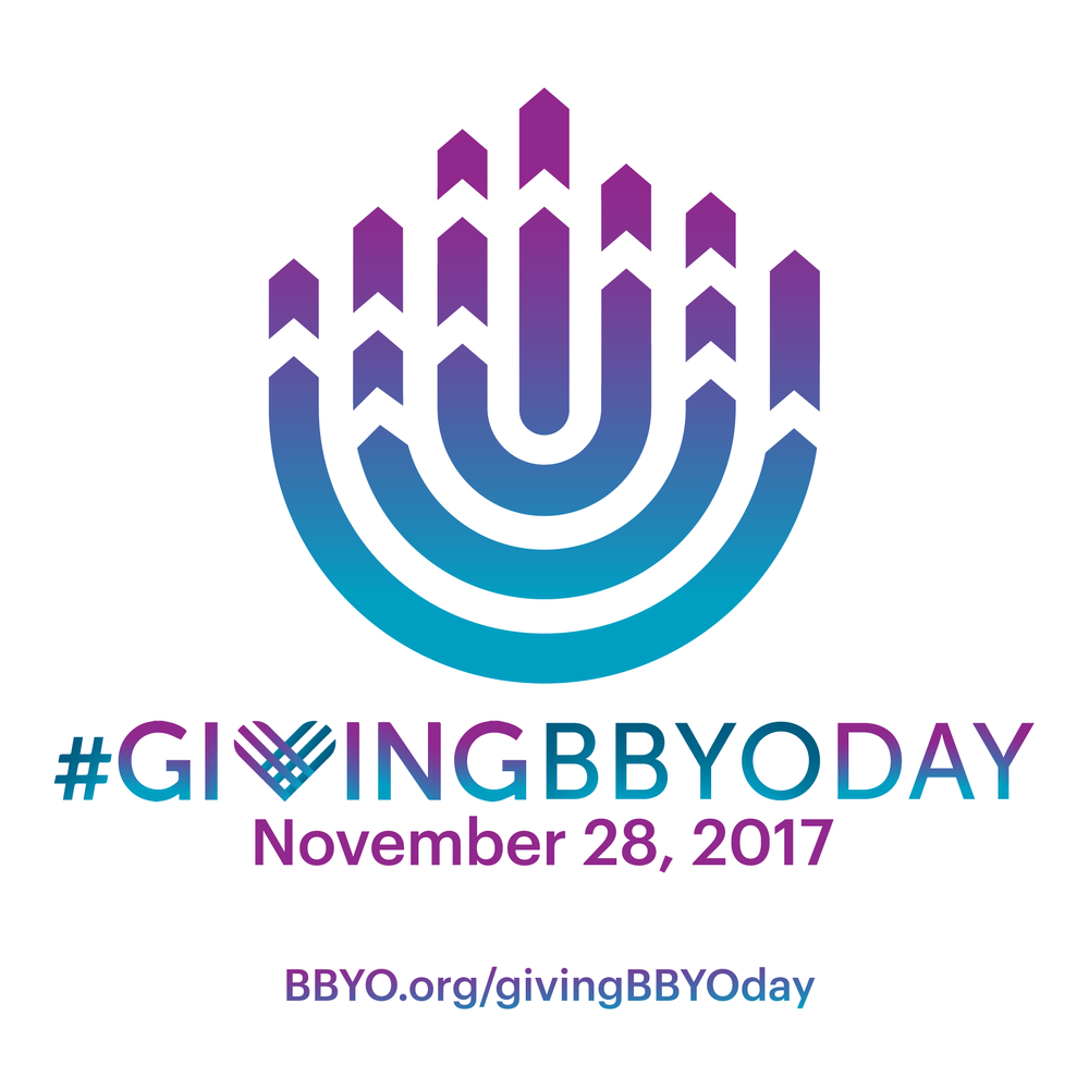 Shareable.Post this to social to tell your friends about #givingBBYOday.