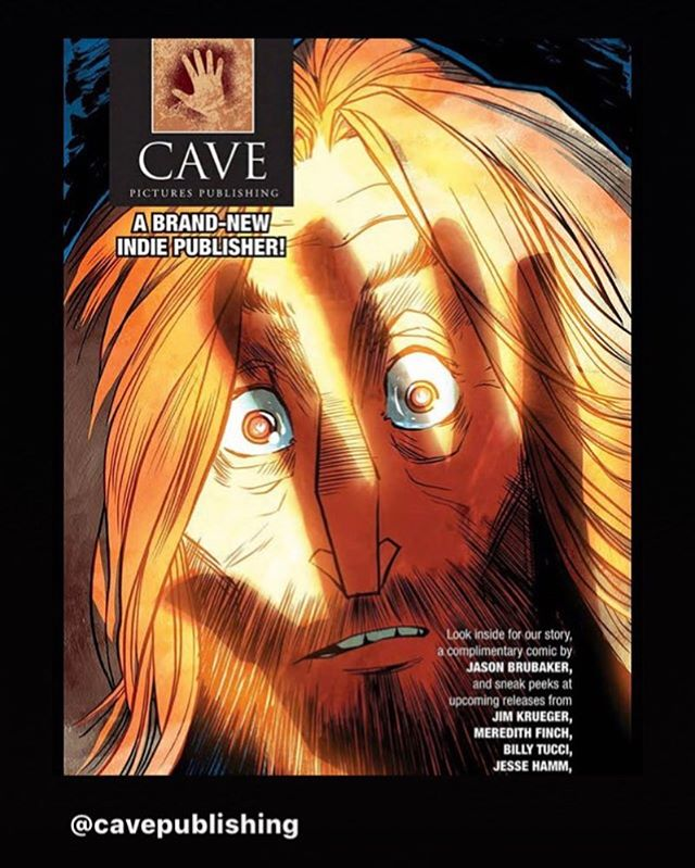 @cavepublishing was kind enough to ask me to write, draw and color this cool little comic for the promotion of their brand new comic publishing company. It's based on Plato's Cave. I'm super happy with how it turned out. Grab a copy from them while you can. I believe you can read it on their website too. The link is in their bio.
