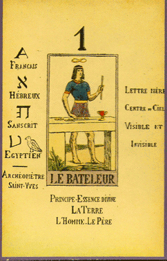 Le Tarot Divinatoire.  Libr. Hermétique, Paris 1909. By Papus [i.e. Gérard Analect Vincent Encausse] (1865–1916) (http://insightfulvision.com/gallery-papus-.php) [Public domain], via Wikimedia Commons