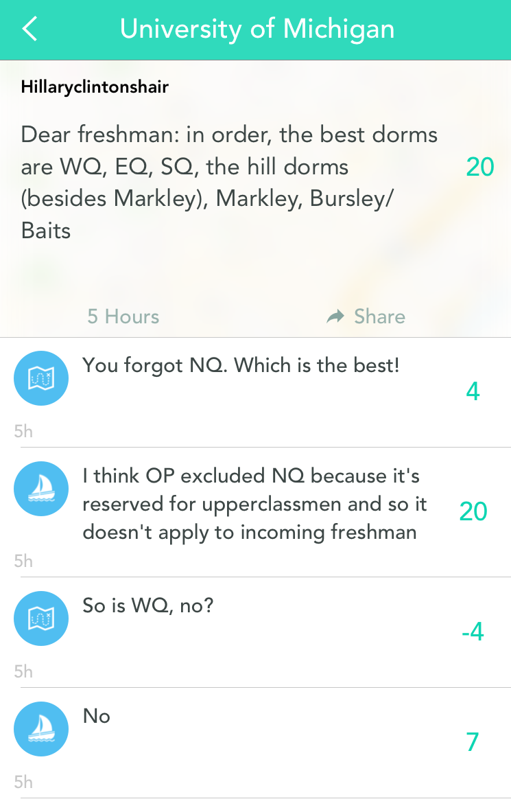 spotlight on university of michigan yik yak blog spotlight on university of michigan