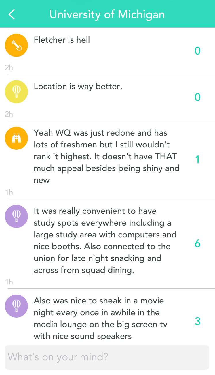 spotlight on university of michigan yik yak blog like this story there are amazing moments happening in yik yak herds around the world and we love to hear from you tell us how your community supports