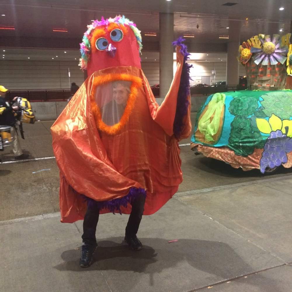 Puppeteer for  First Night PGH 2019 Parade