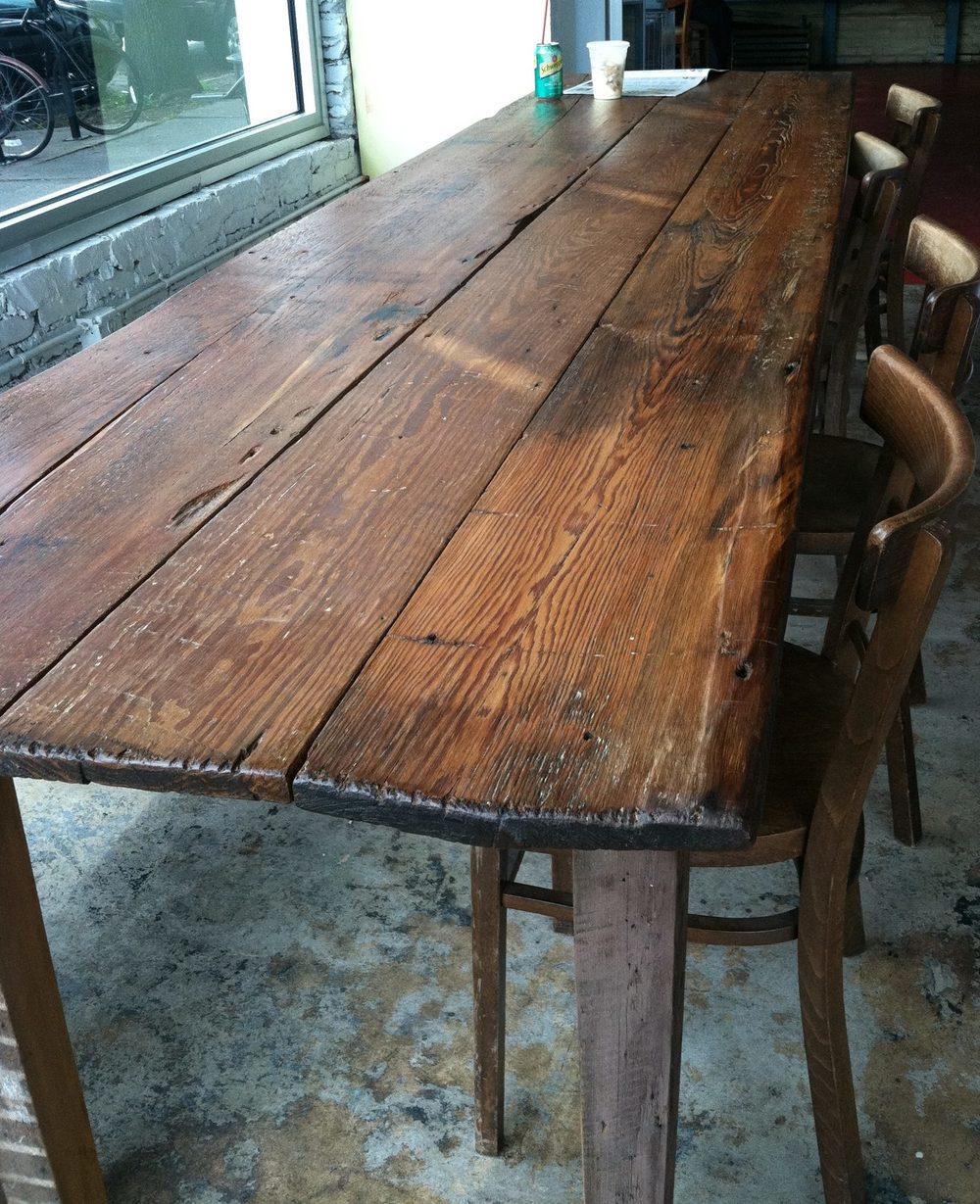 Superior Long Farm Table