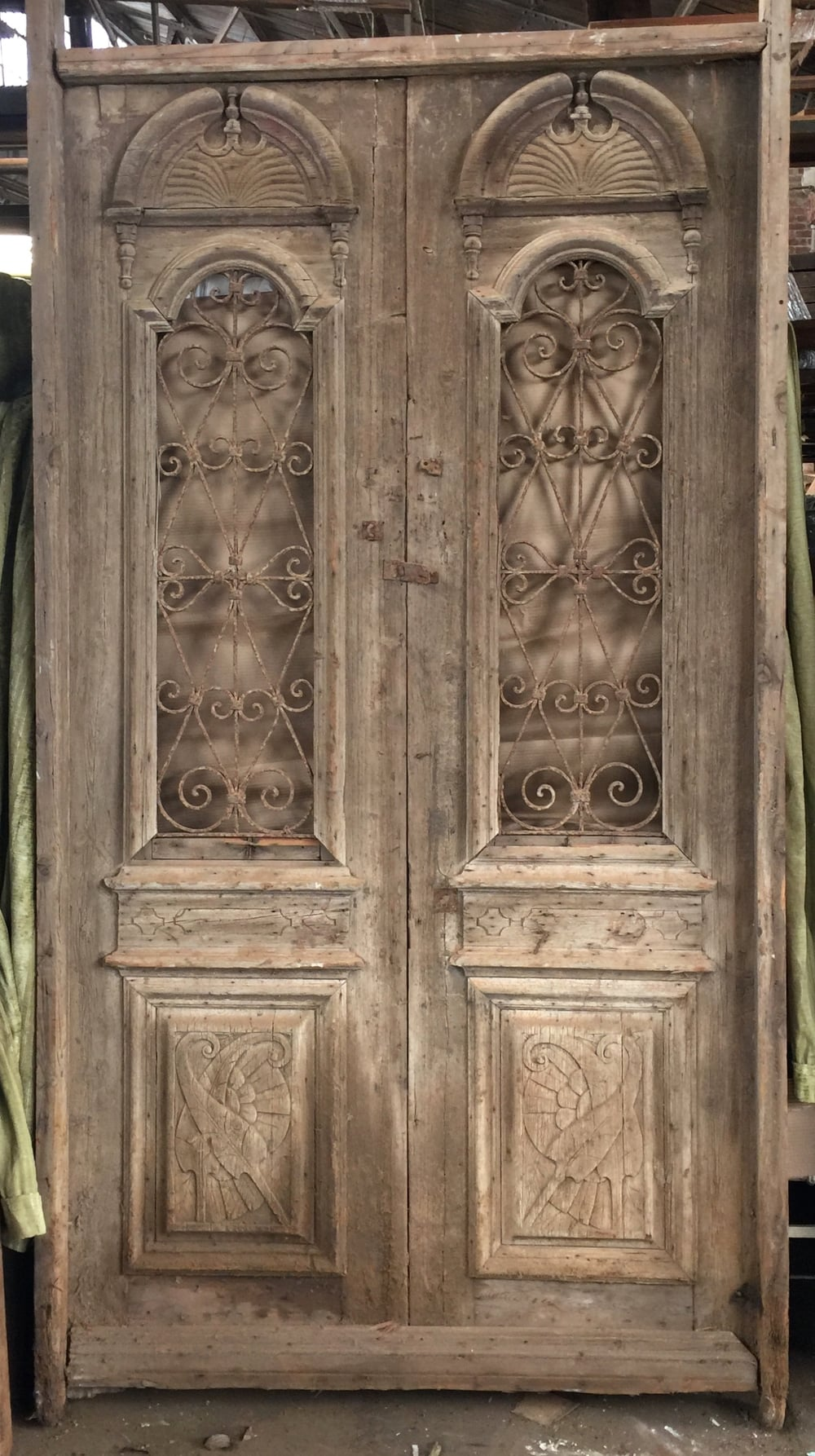 Vintage sale reclaimed antique doors southern pine company for Entrance doors for sale