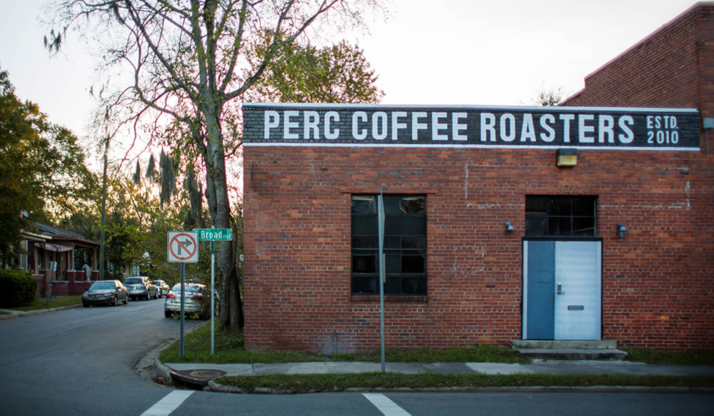 PERC's facade on East Broad. Photo courtesy of PERC themselves.