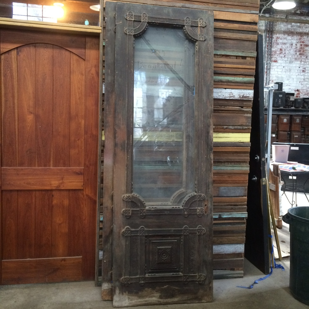... 1.5  D.) cottage doors from the Eastlake period. Simple ornamentation along the glazing resembling strap work of the mannerist period. & Antique Sale: