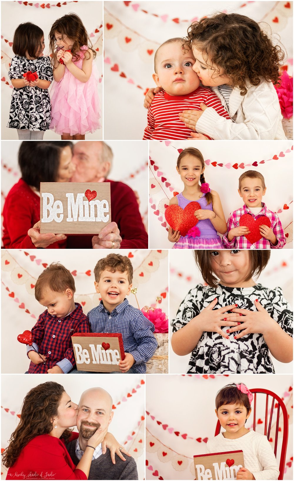 Last years Valentine minis.