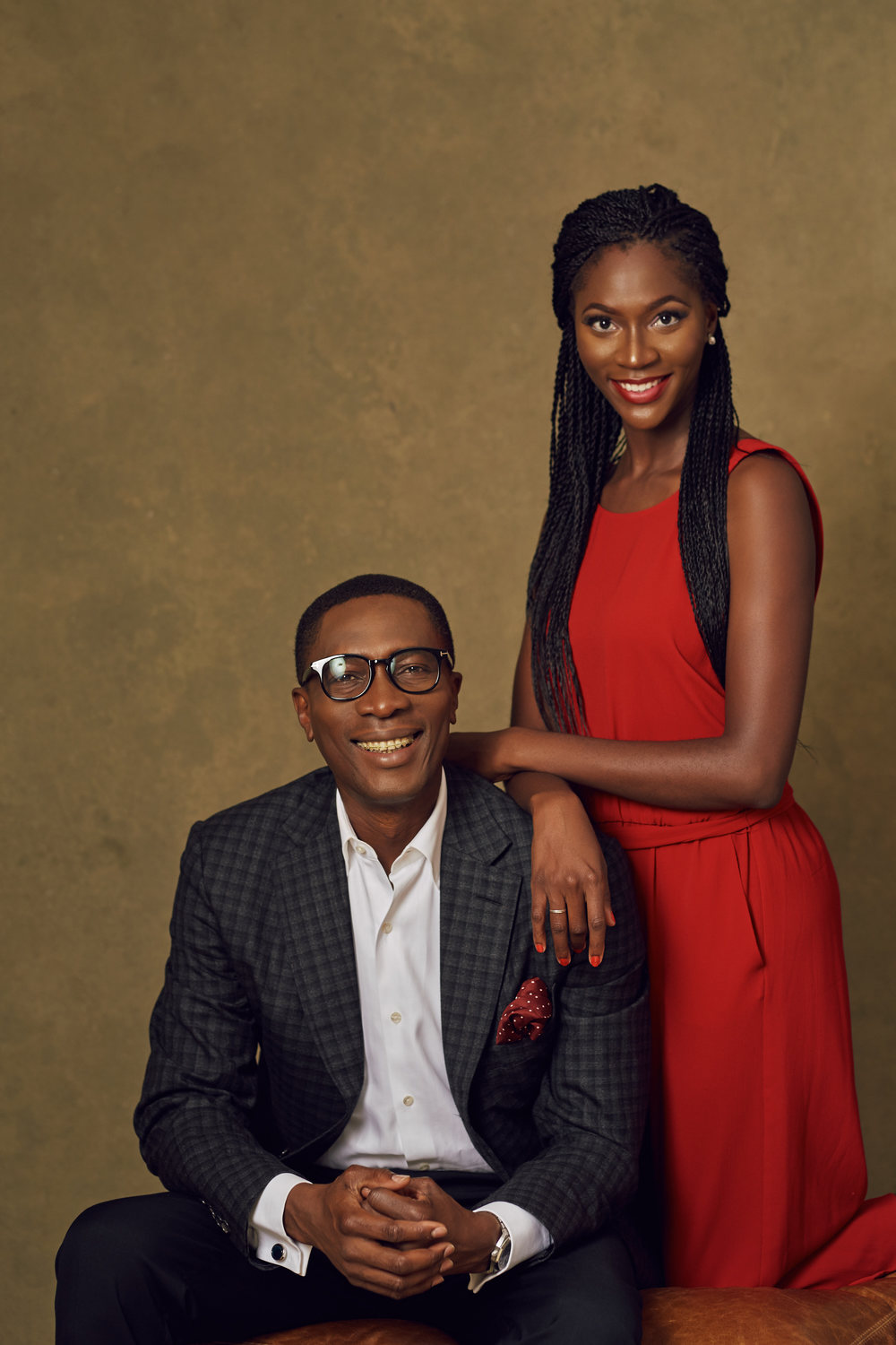 Dr Tony Rapu and his daughter, Kene Pic Credit: Obi Somto Photography
