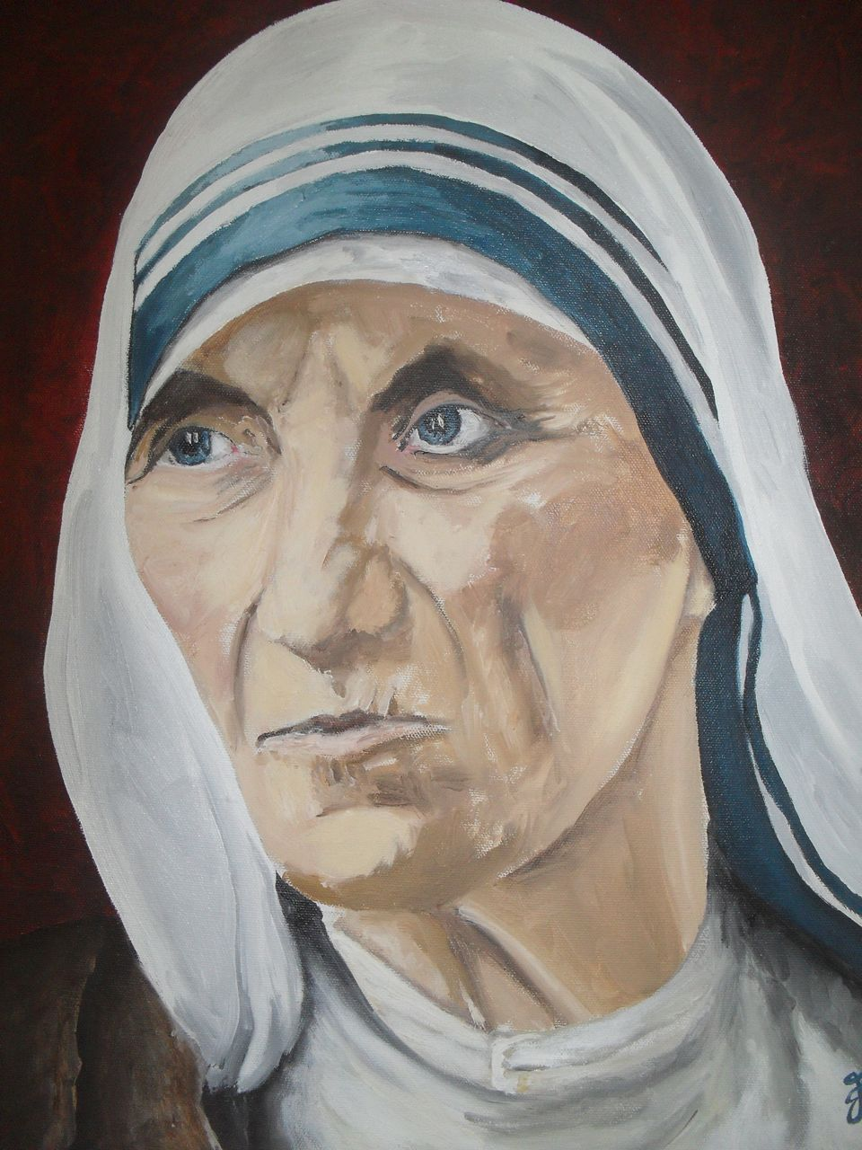 Mother Teresa painting SDC15427