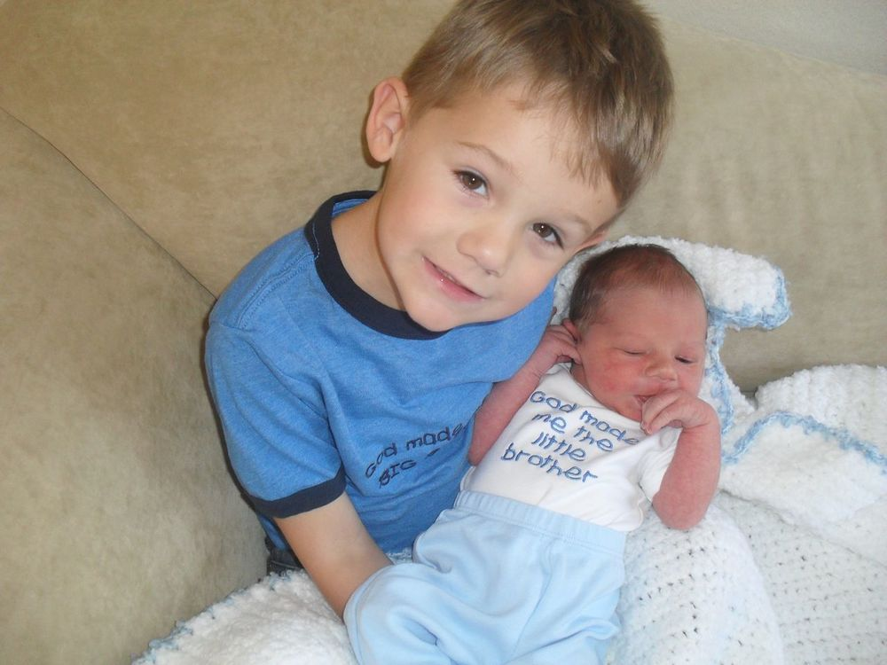 Kaden and Eli...Eli's birth