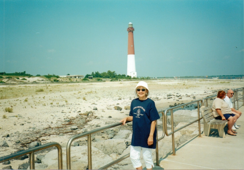 Jan at Barnegat Lighthouse 2000