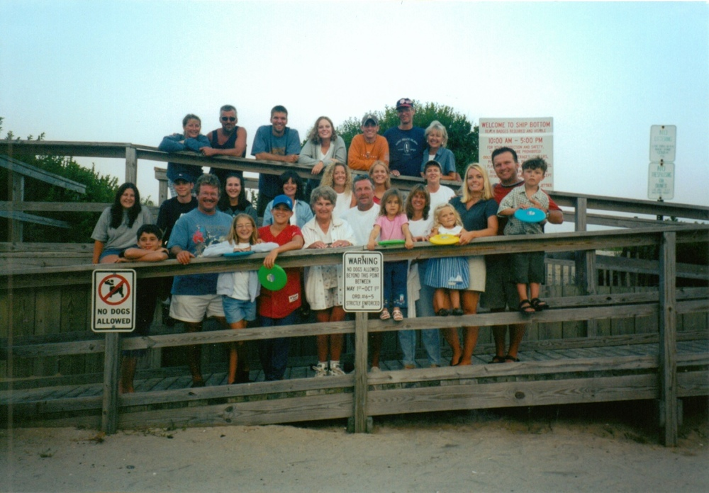 Family reunion at LBI 2000