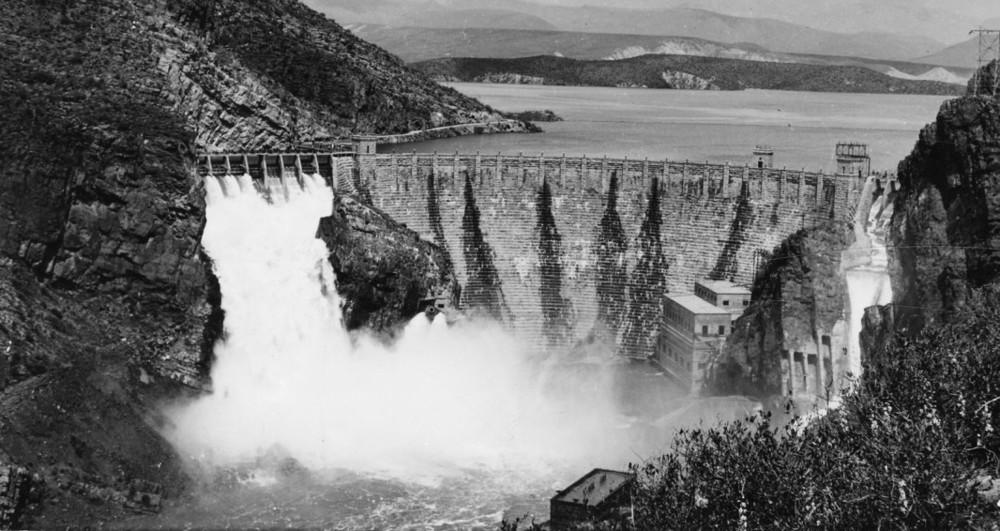 roosevelt dam overflow