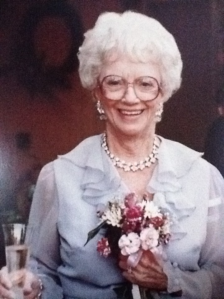 Esther at her wedding , 80 years old