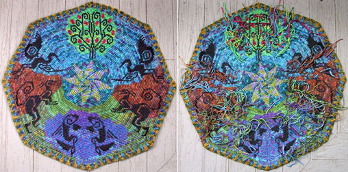 tapestry, front & back