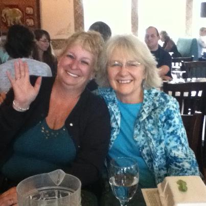 Susan Silsby & me