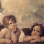 sistine madonna cherubs