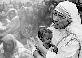 Mother Theresa with child