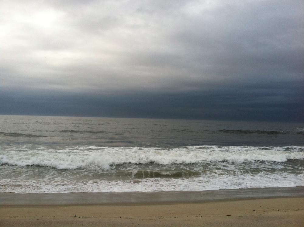 silvery sunrise