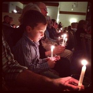 candlelight service ppc