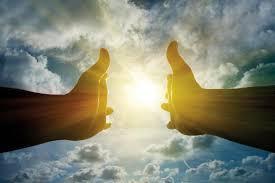 Heaven, god's hands