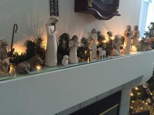 Magi in nativity scene