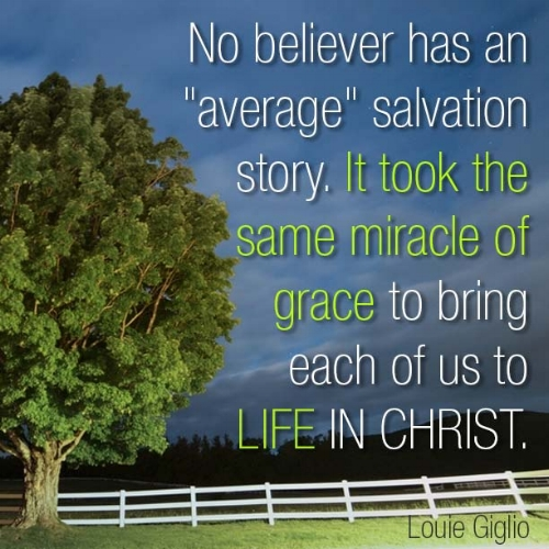 salvation quote / Lou Giglio