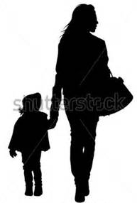 mother & girl