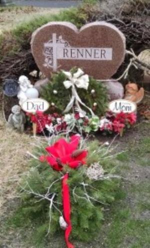 Dad & Mom's gravesite
