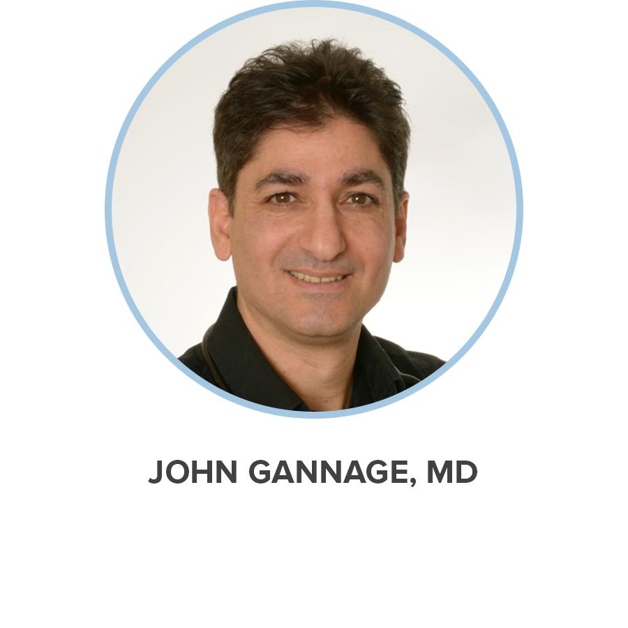 JOHN GANNAGE, MD