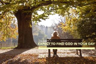 expect God