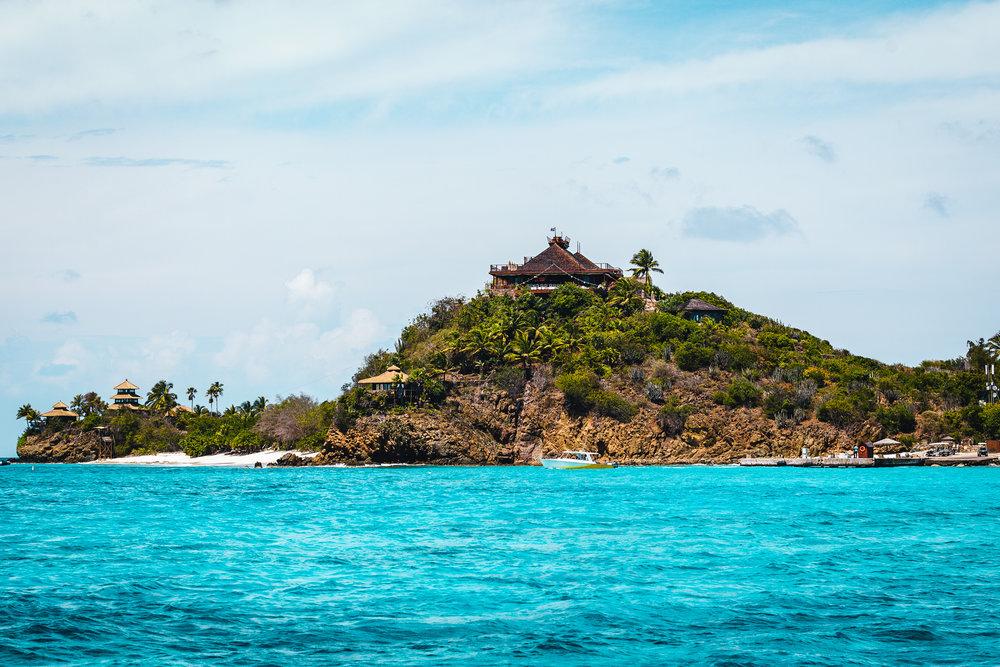 Necker Island - Sir Richard Branson's private island in the Caribbean