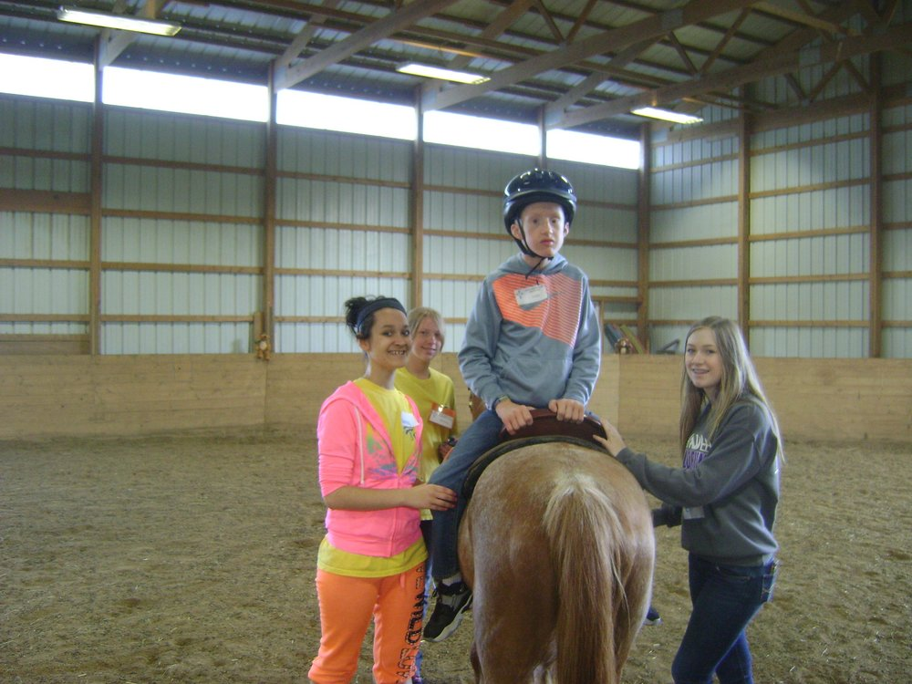 Horses & Heroes      Community Therapeutic Riding