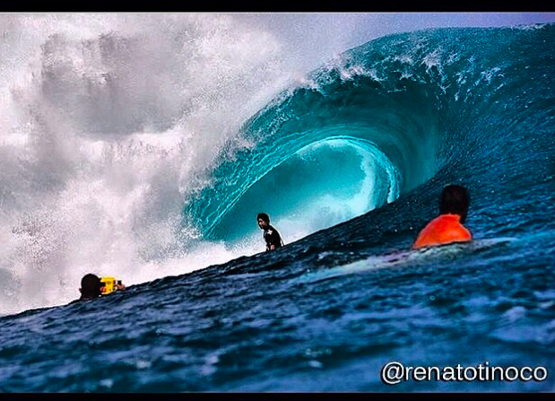 Keoni Yan: Teahupoo Tahiti: Born and raised on the reefs of Tahiti, Keoni trusts Pulpo to keep himself and his home safe.