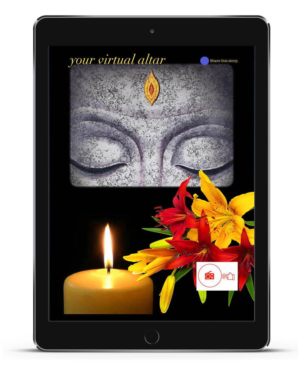 The former new aura magazine on the iPad